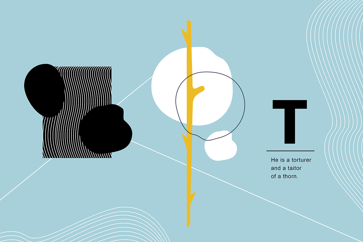 插畫圖案設計_Alphabet Book-捷可印