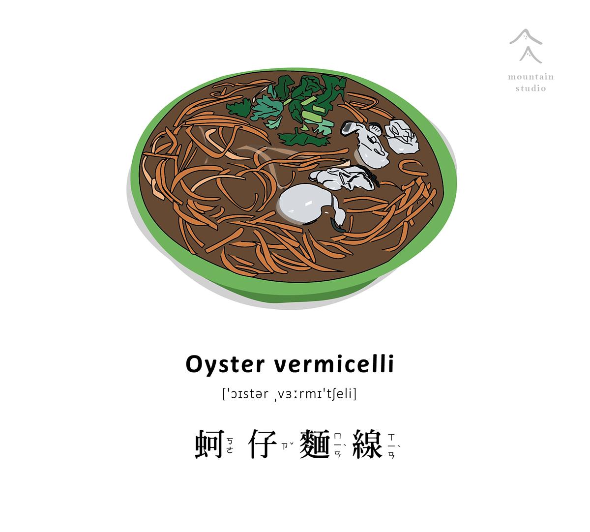 Food Illustrations 食物插畫_向量-捷可印