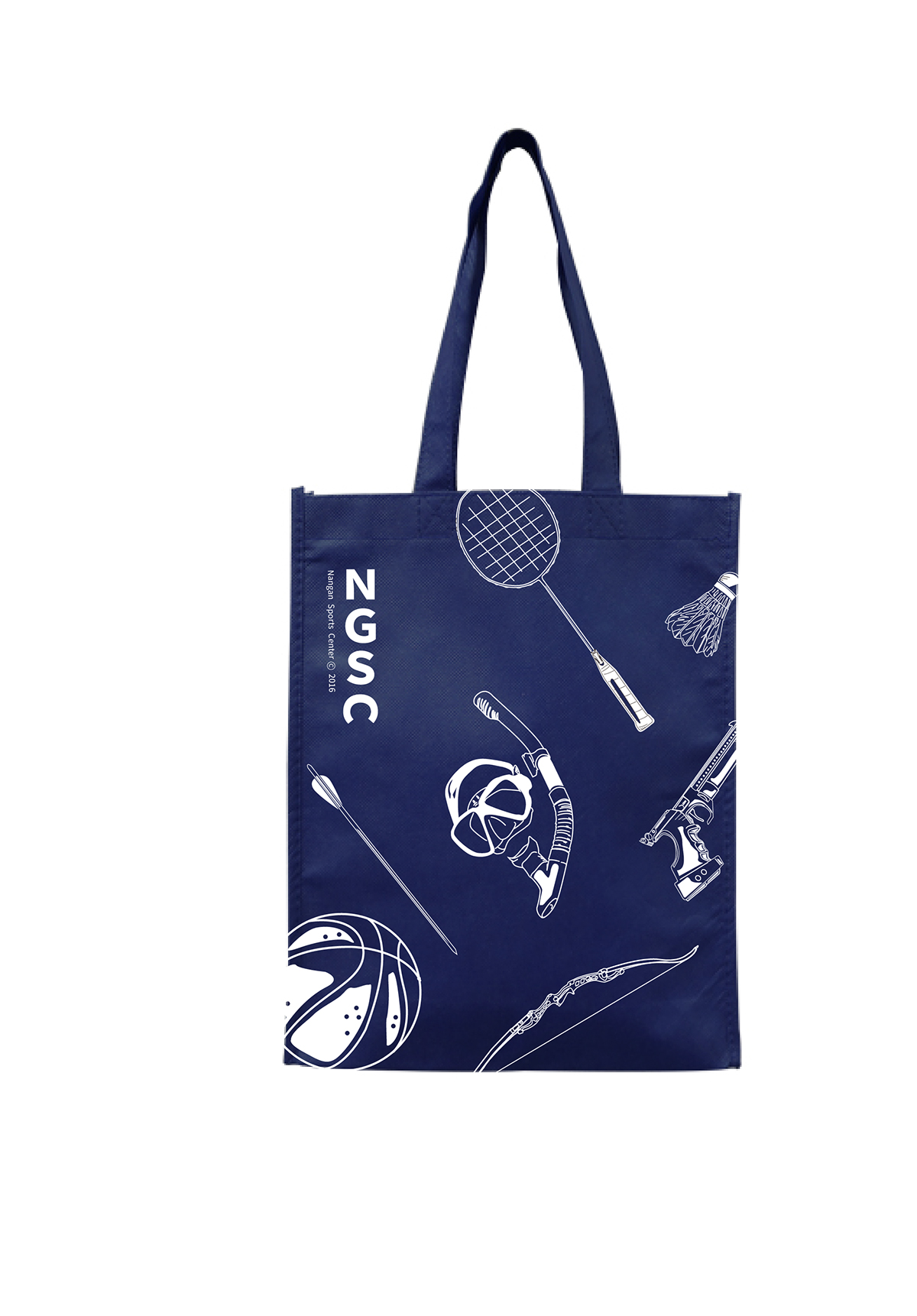 Bag Design_南港運動中心提袋設計提案-捷可印