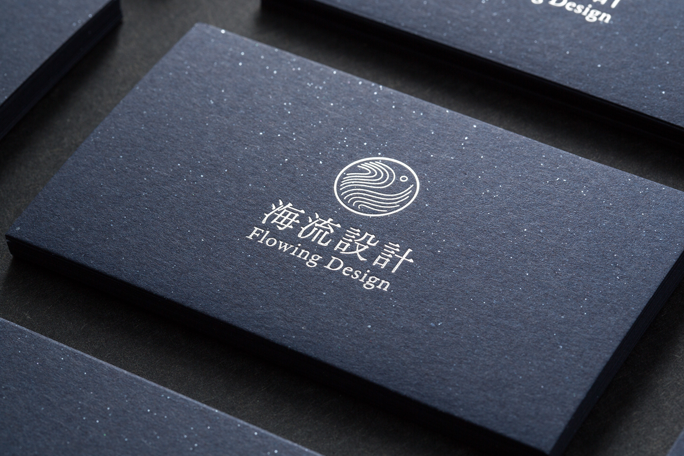 Business card for Flowing Design-捷可印