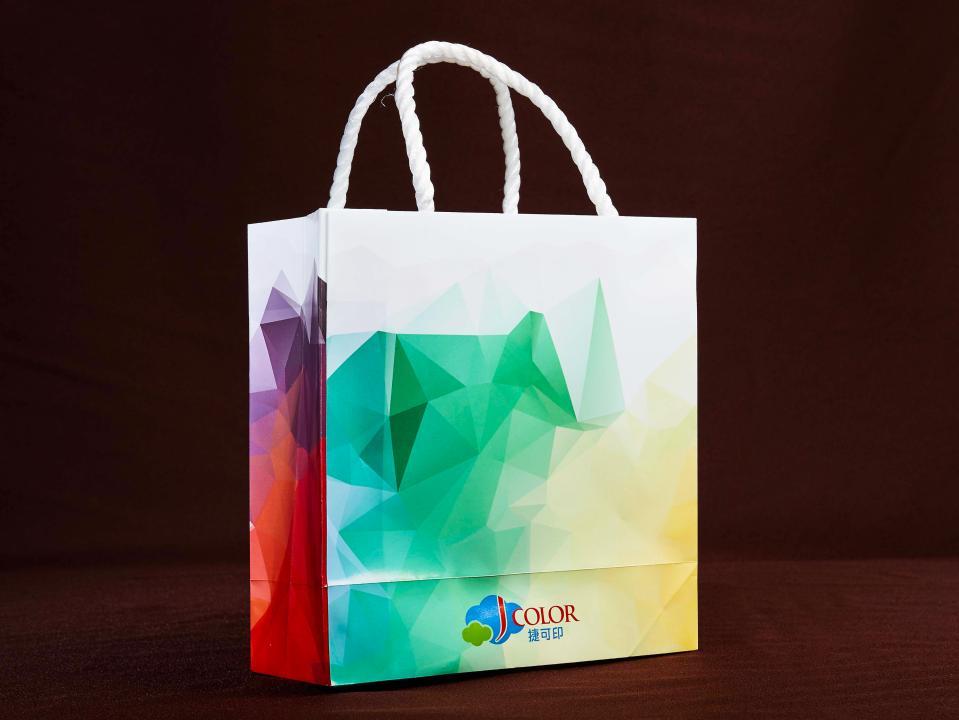 紙袋製作,便宜優質的彩色提袋印刷服務 | 捷可印