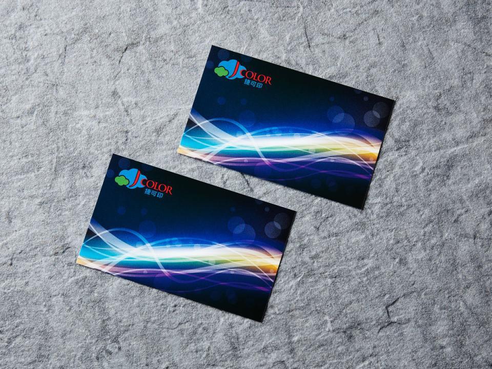 彩鑽卡名片