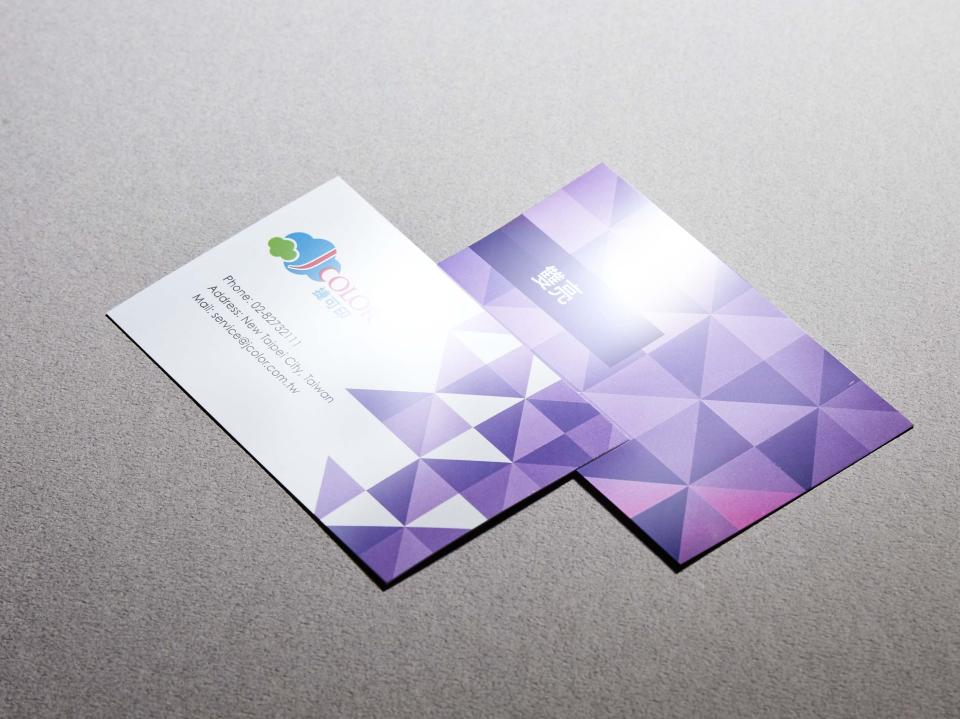 雙亮名片製作,便宜優質的名片印刷服務 | 捷可印