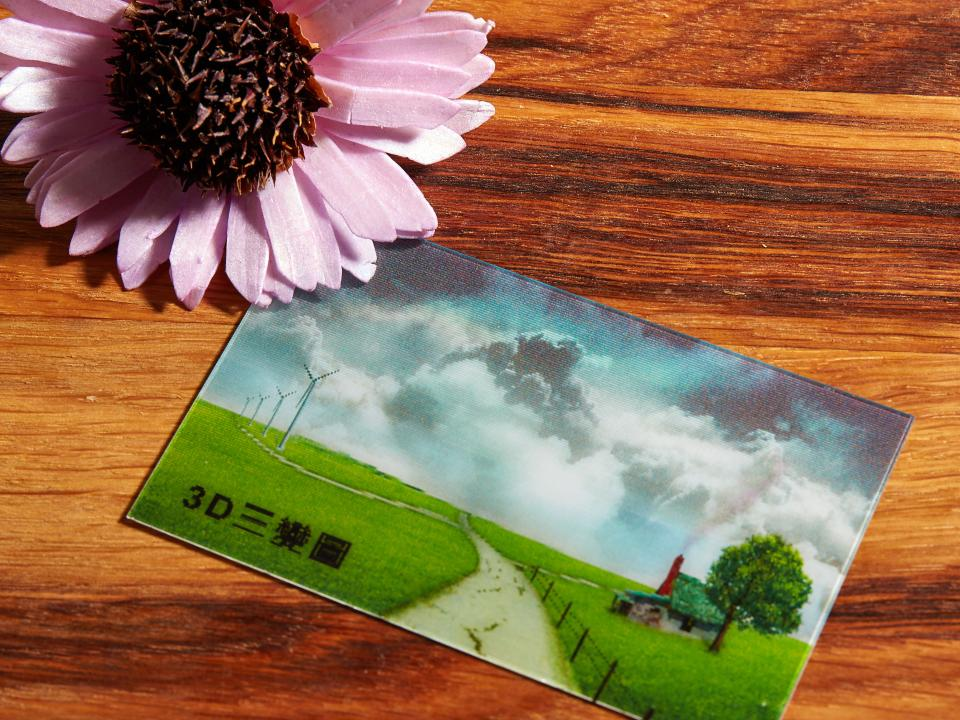 3D三變卡名片製作,便宜優質的3D名片印刷服務-捷可印