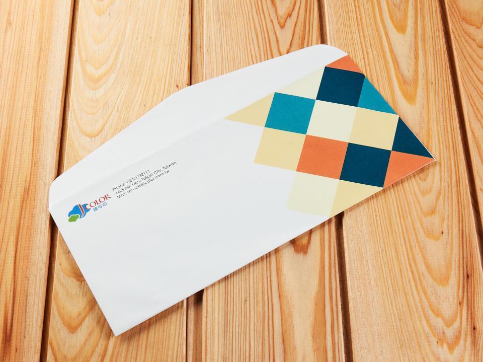 美式12K信封製作,便宜優質的信封印刷服務 | 捷可印