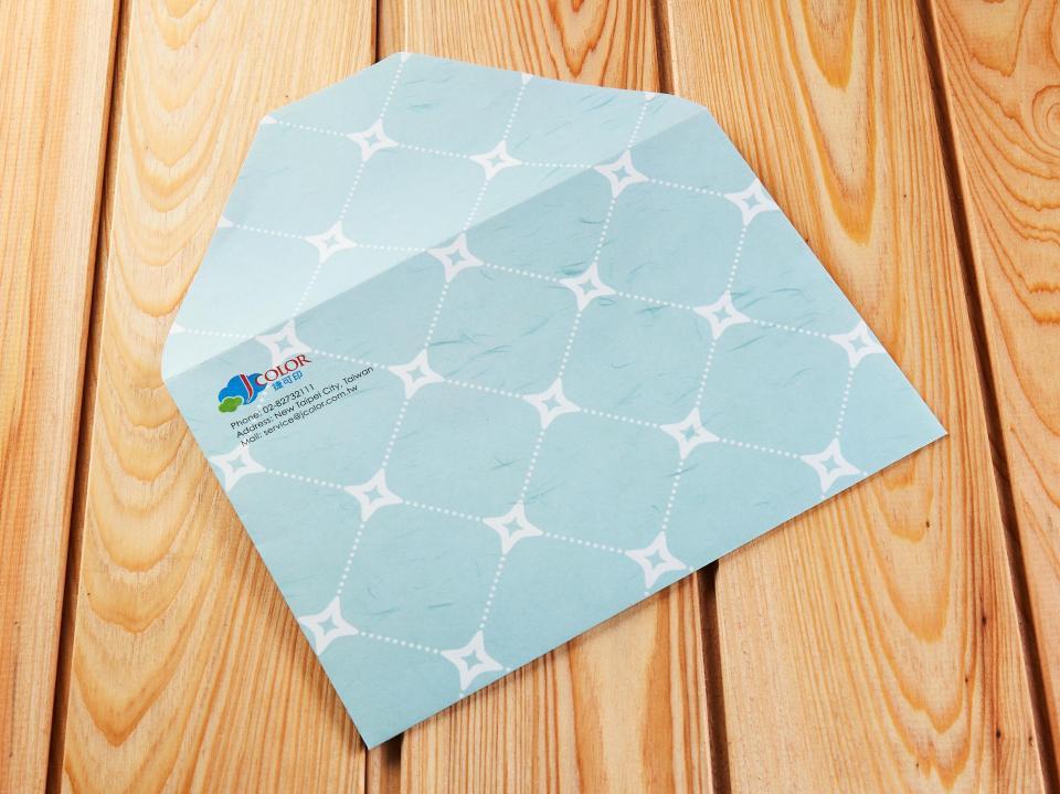 蝴蝶式信封製作,便宜優質的信封印刷服務 | 捷可印