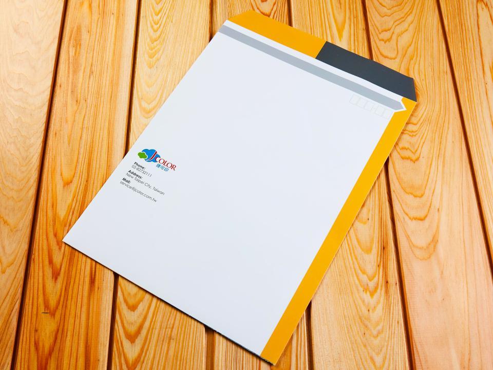 中式4k公文袋製作,便宜優質的信封印刷服務-捷可印