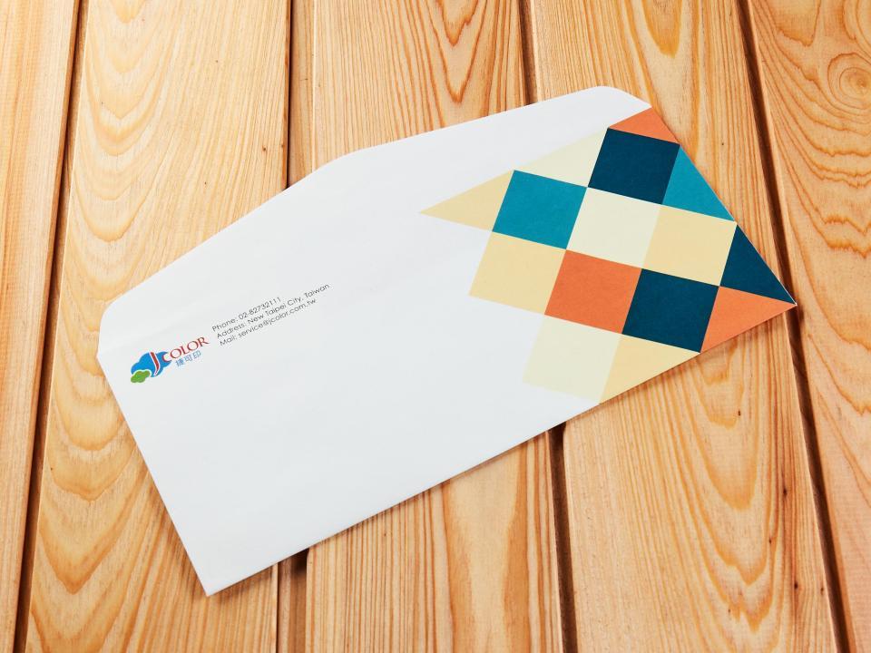 美式12K信封製作,便宜優質的信封印刷服務-捷可印