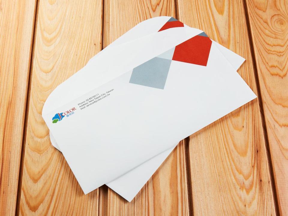 西式12K信封製作,便宜優質的信封印刷服務-捷可印