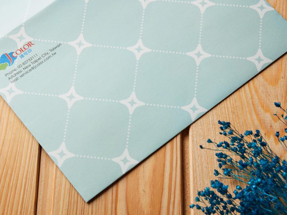 印蝴蝶式信封 | 捷可印