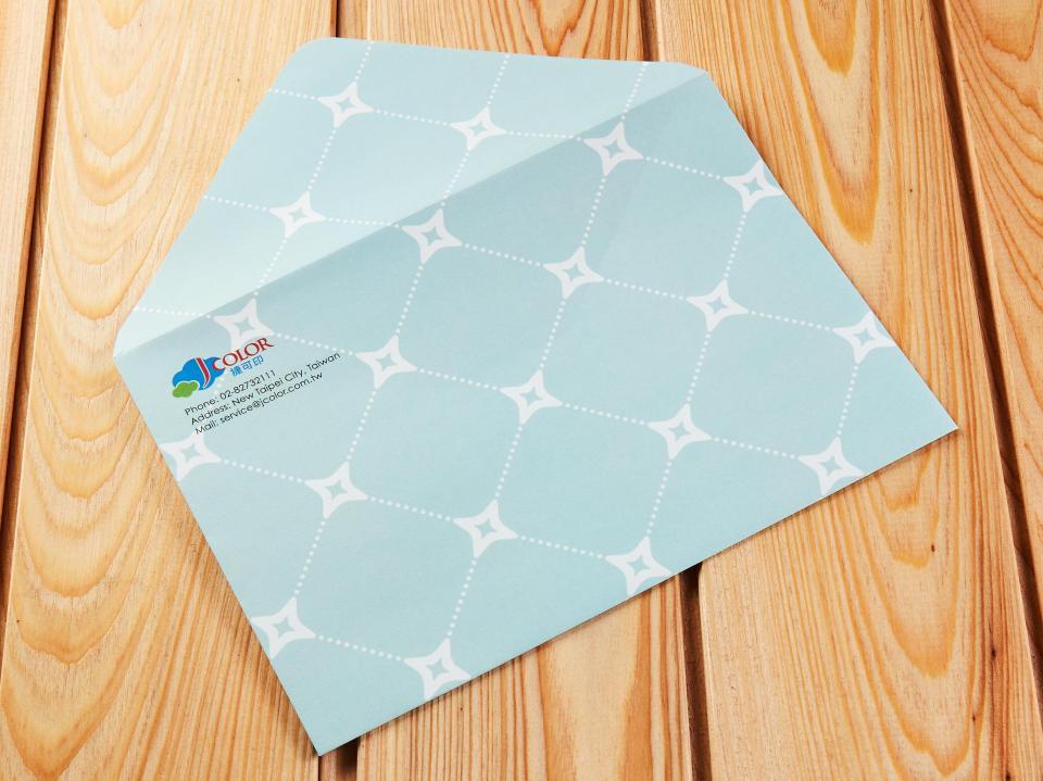 蝴蝶式信封製作,便宜優質的信封印刷服務-捷可印