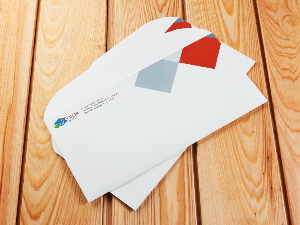 西式12K拉鍊信封製作,便宜優質的信封印刷服務-捷可印