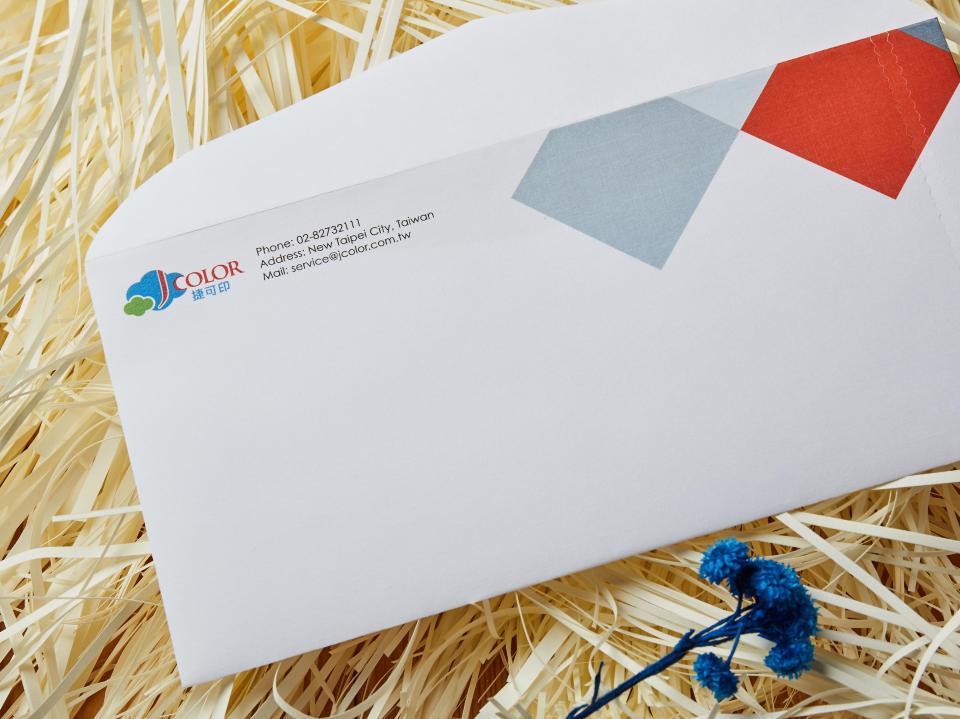 印西式12K拉鍊信封 | 捷可印
