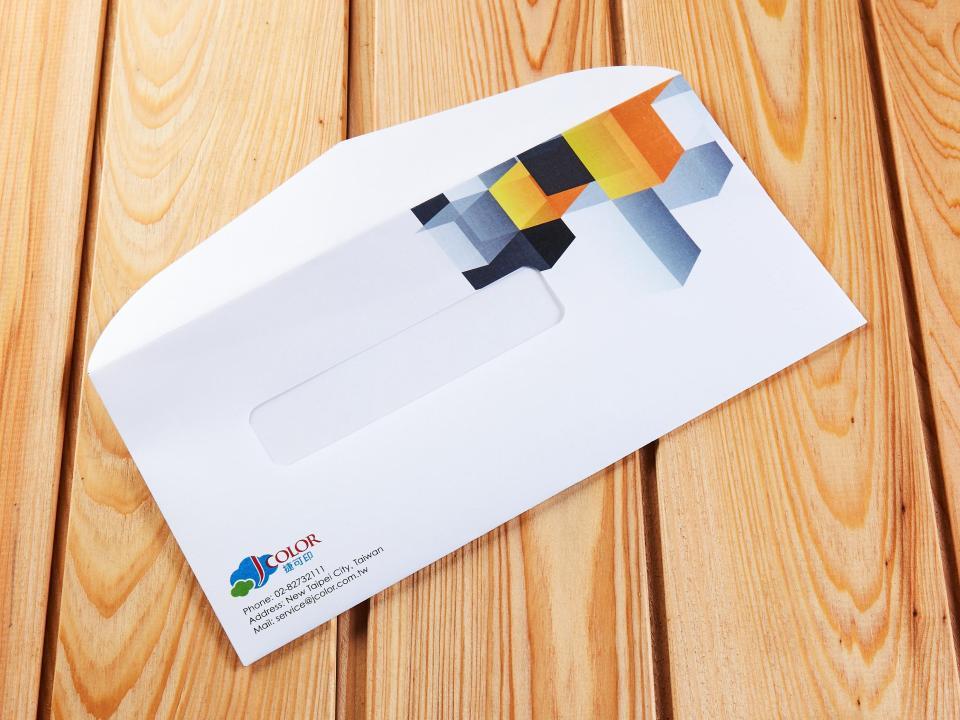 西式12K開窗拉鍊信封製作,便宜優質的信封印刷服務-捷可印