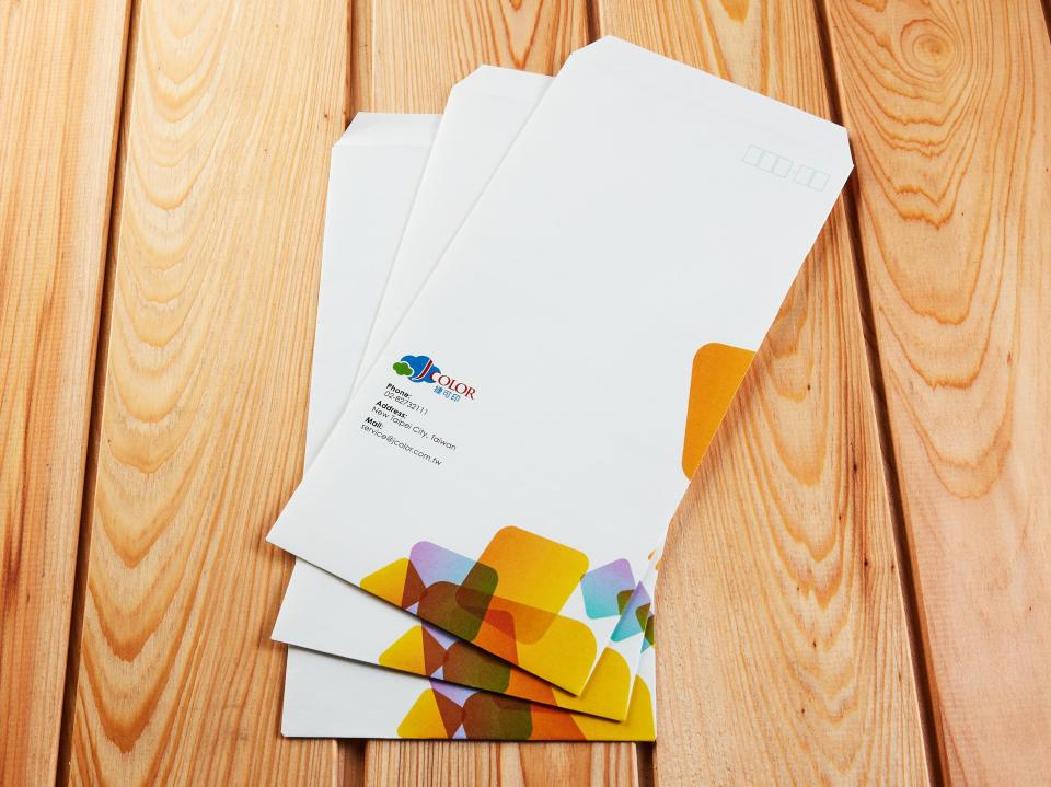 中式12K信封製作,便宜優質的信封印刷服務 | 捷可印