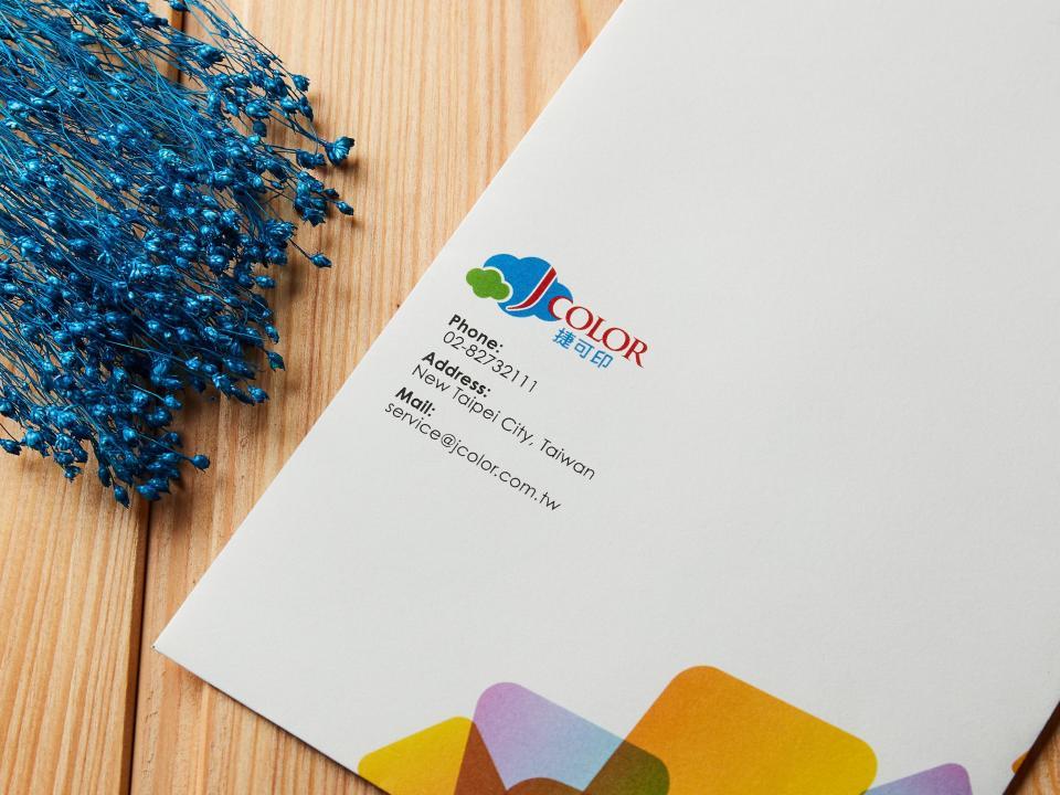 印中式12K信封 | 捷可印
