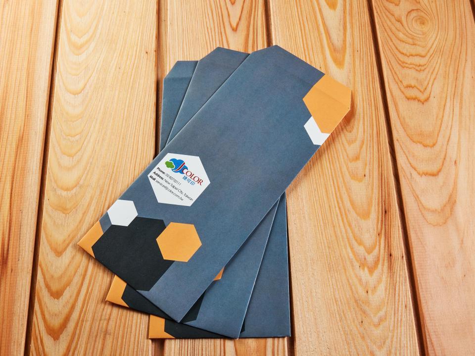 中式15K信封製作,便宜優質的信封印刷服務 | 捷可印