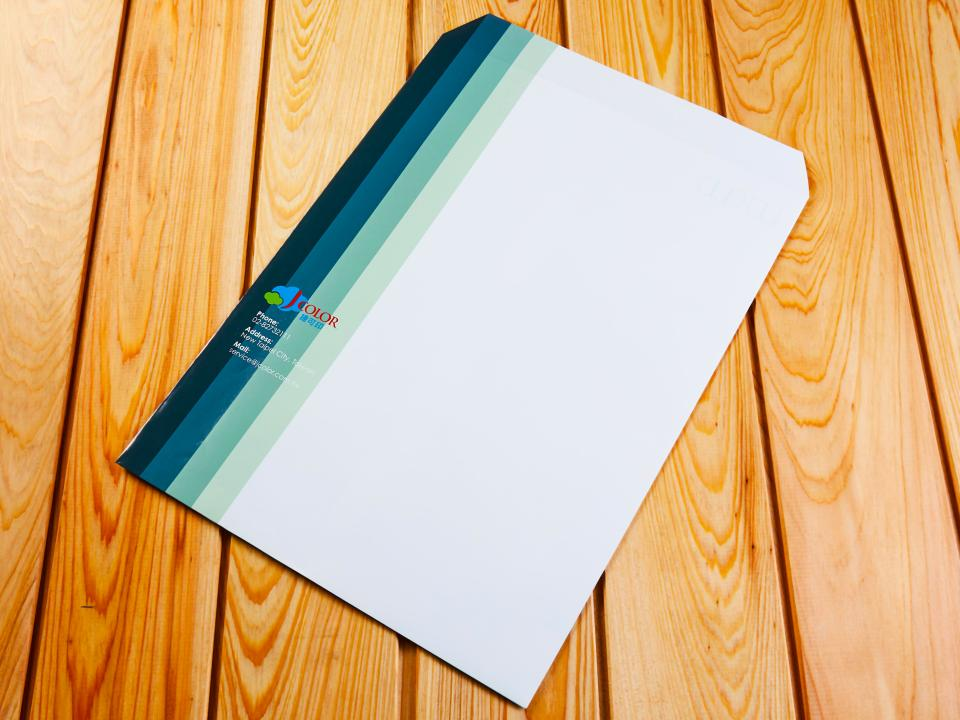 中式4k公文袋製作,便宜優質的信封印刷服務   捷可印