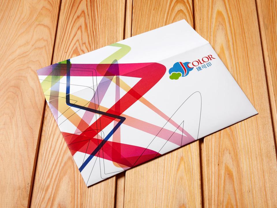 歐式12K信封製作,便宜優質的信封印刷服務 | 捷可印