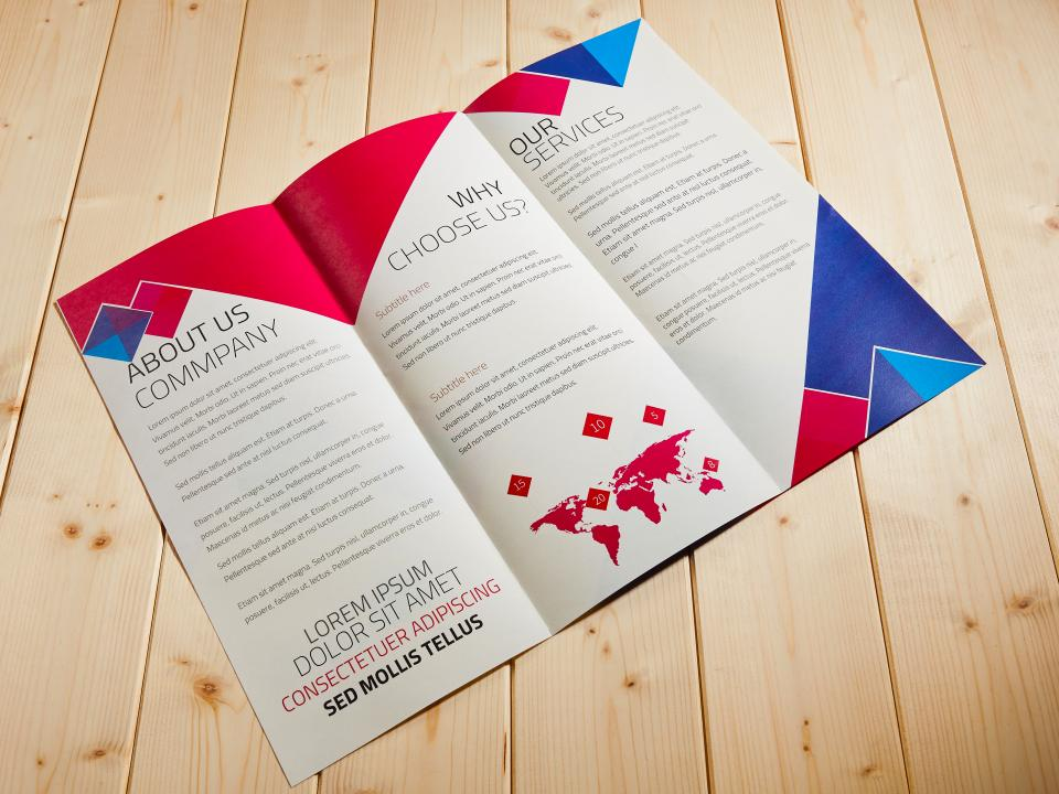 A3 摺紙DM製作,便宜優質的摺紙DM印刷服務-捷可印