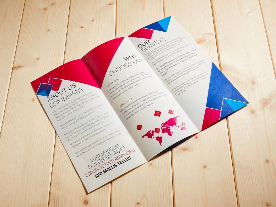 A4 摺紙DM製作,便宜優質的摺紙DM印刷服務-捷可印