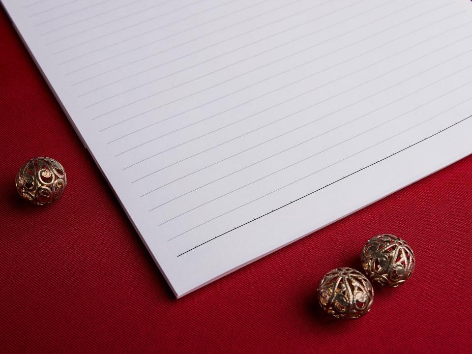 A4萊妮信紙