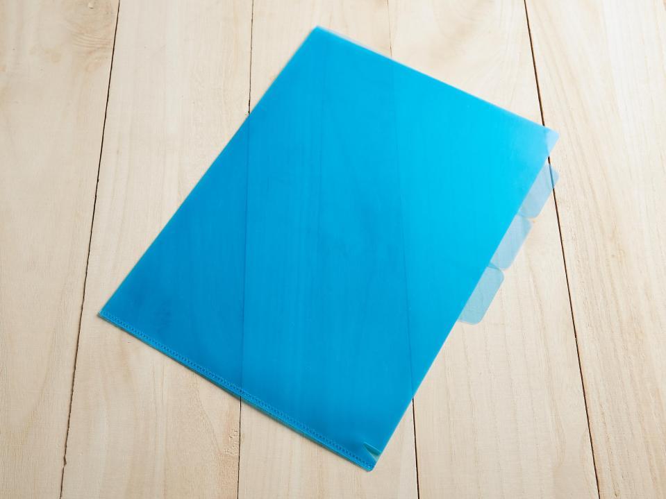 A4 三層L型透明資料夾製作,便宜優質的PP透明資料夾印刷服務-捷可印