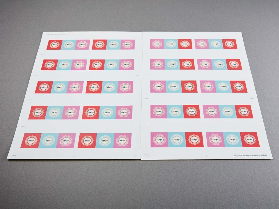 大A3不上光貼紙製作,便宜優質的貼紙印刷服務-捷可印