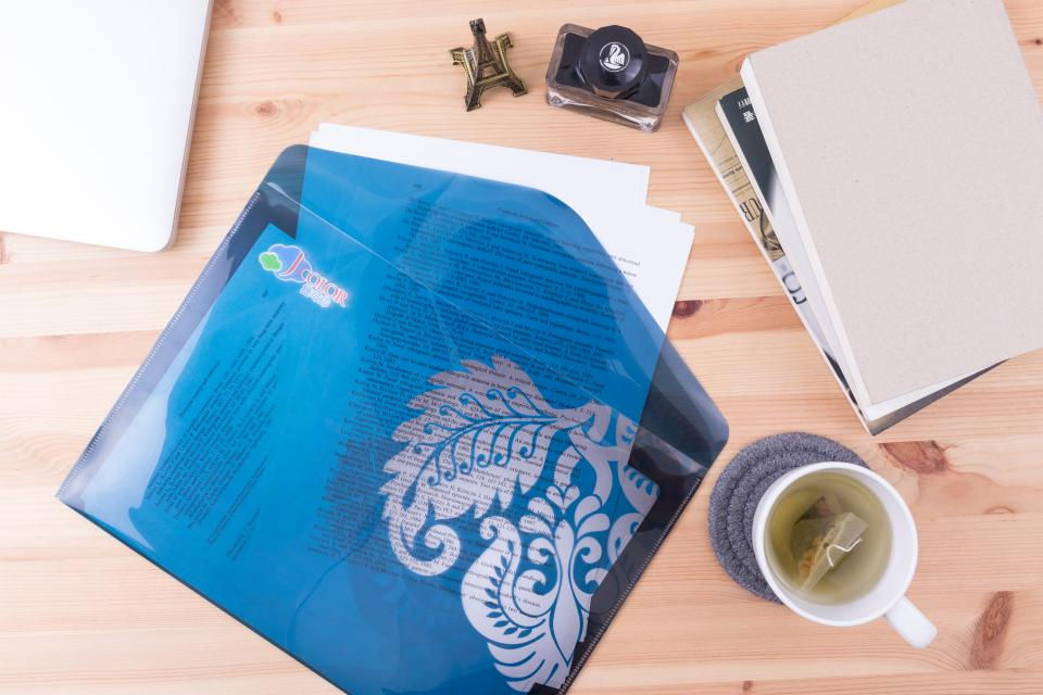 塑料西式資料夾製作,便宜優質的塑料西式資料夾印刷服務-捷可印