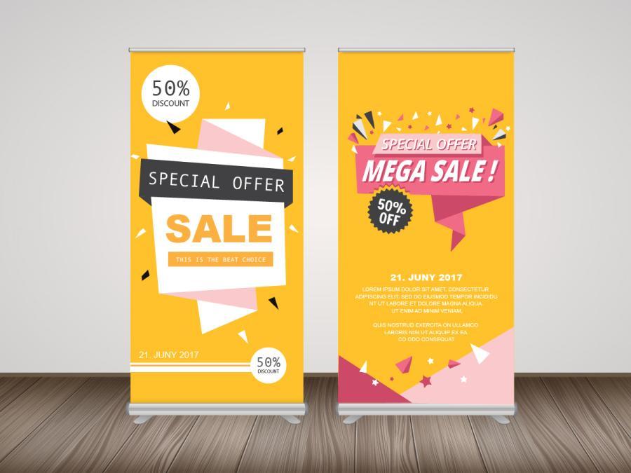 易拉展製作,便宜優質的室內大圖輸出印刷服務-捷可印