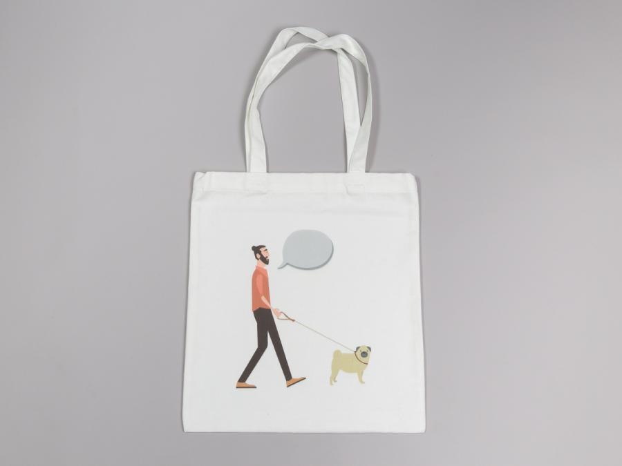 棉質方形提袋製作,便宜優質的提袋印刷服務-捷可印