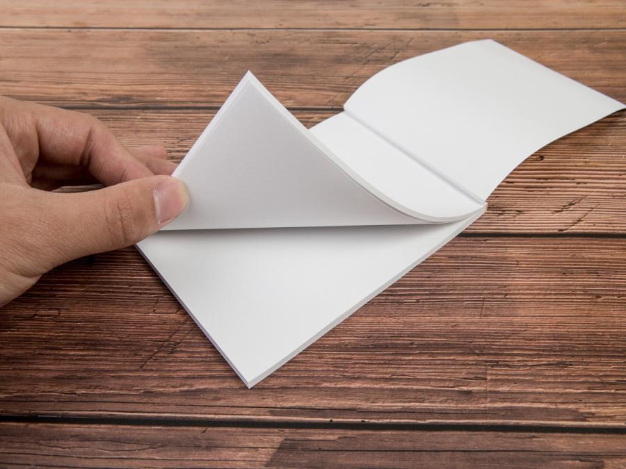 膠裝便條紙A6