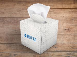 廣告面紙盒