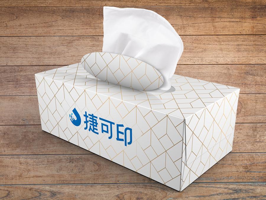 廣告面紙盒製作,便宜優質的廣告面紙印刷服務-捷可印