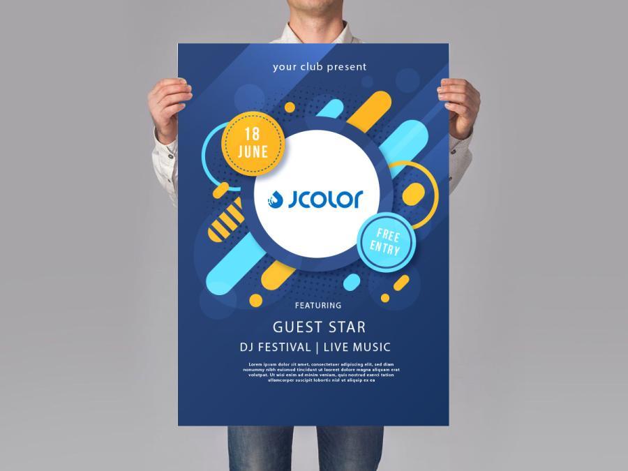 少量海報製作,便宜優質的室內大圖輸出印刷服務-捷可印