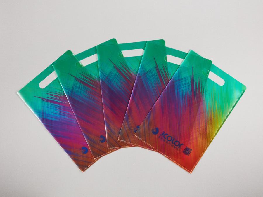 手提透明資料夾製作,便宜優質的PP透明資料夾印刷服務-捷可印