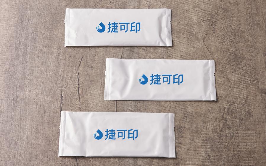 單片濕紙巾