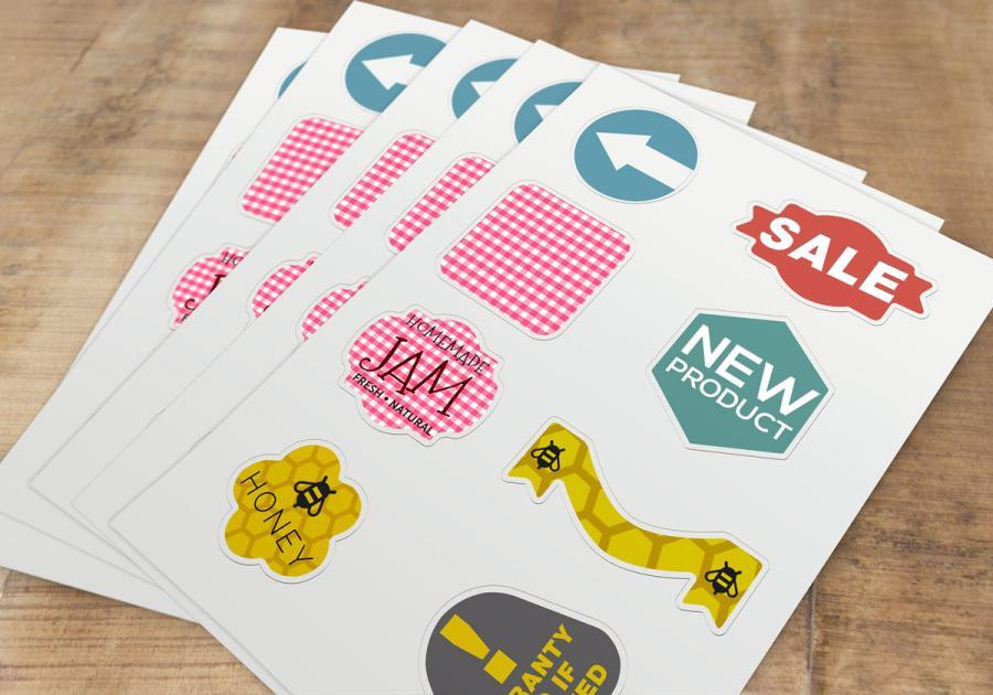少量雷射切割貼紙製作,便宜優質的貼紙印刷服務-捷可印